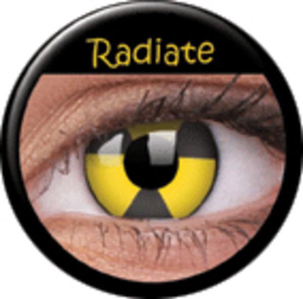 ColourVue CRAZY ČOČKY - Radiate (2 ks tříměsíční) - nedioptrické