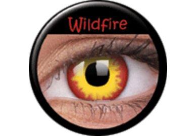 ColourVue CRAZY ČOČKY - Wildfire (2 ks tříměsíční) - dioptrické