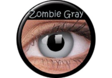 ColourVue CRAZY ČOČKY - Zombie Grey (2 ks tříměsíční) - dioptrické