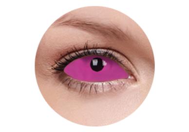 ColourVue Crazy čočky UV Sklerální - Radien Pink (2 ks půlroční) - nedioptrické
