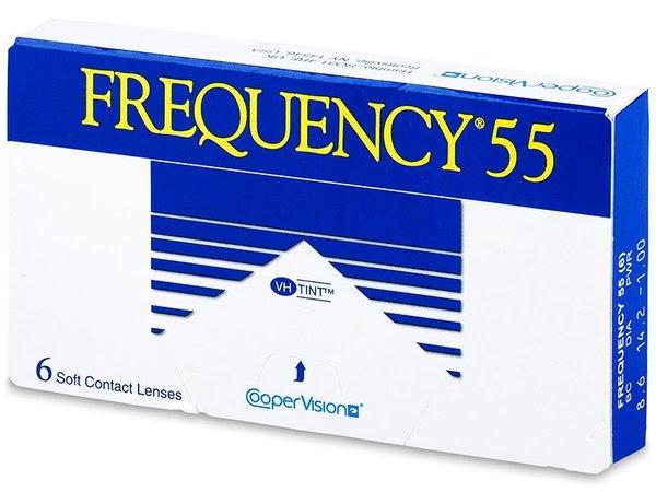 Frequency 55 (6 čoček) - Výprodej expirace 03/2016