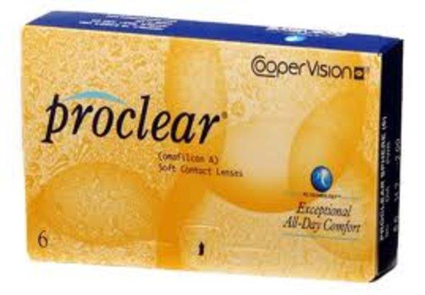 Proclear (6 čoček) - poškozený obal