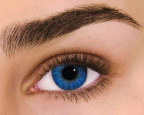 Air Optix Colors - Brilliant Blue (2 čočky měsíční) - nedioptrické
