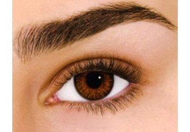 Air Optix Colors - Brown (2 čočky měsíční) - nedioptrické