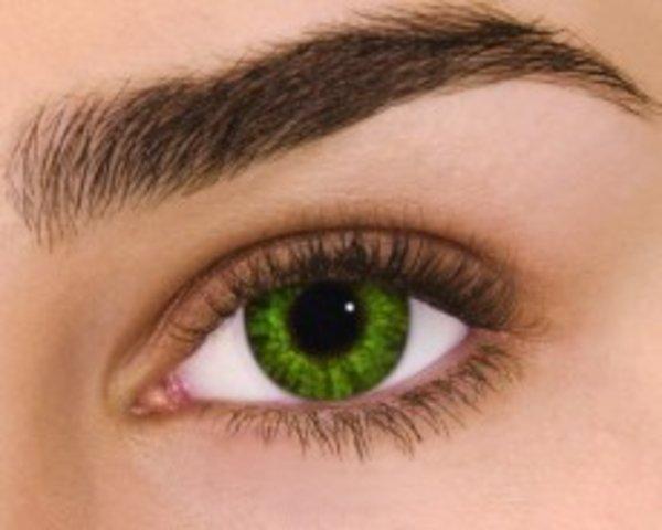 Air Optix Colors - Gremstone Green (2 čočky měsíční) - dioptrické - výprodej skladu