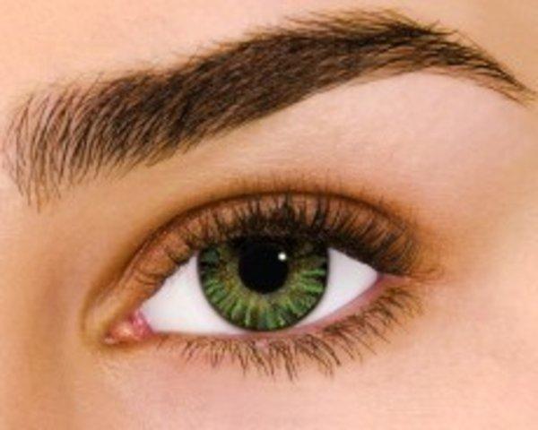 Air Optix Colors - Green (2 čočky měsíční) - dioptrické - výprodej