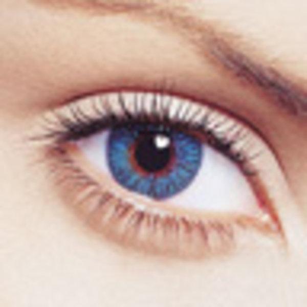 FreshLook Colors (2 čočky) - Blue dioptrické - výprodej