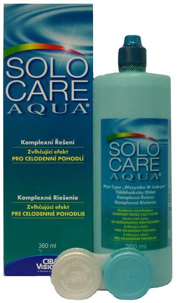 SoloCare Aqua 360 ml s pouzdrem - výprodej expirace 08/2016