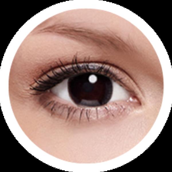 FreshKon Alluring Eyes - Mystical Black (2 čočky měsíční) - nedioptrické - výprodej