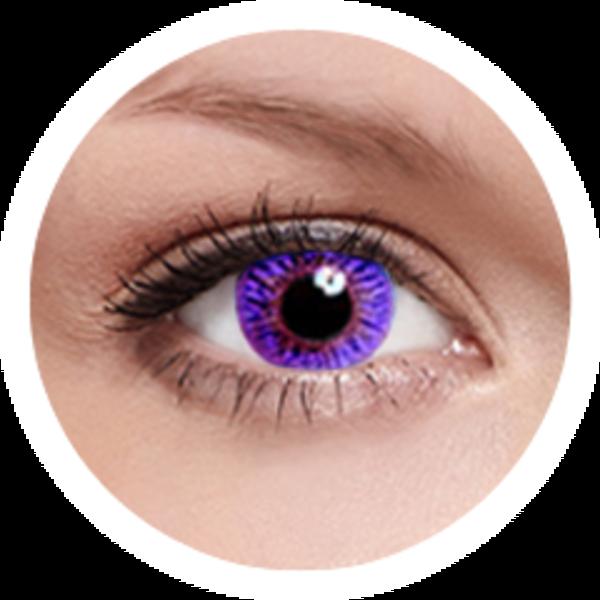 FreshKon Colors Fusion - Romantic Violet (2 čočky měsíční) - dioptrické