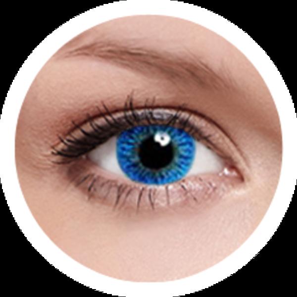 Kontaktní čočky FreshKon (2ks, měsíční) - Sky Blue dioptrické