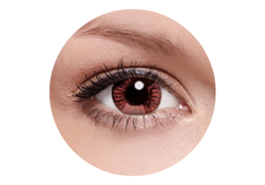 FreshKon Alluring Eyes - Winsome Brown (2 čočky měsíční) - dioptrické - výprodej 09/2018