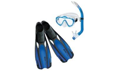Mares Aquazone SHARKY set modrý