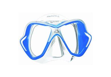 Maska MARES X-Vision LiquidSkin transparentní / modrá