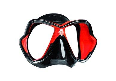 Maska MARES X-Vision LiquidSkin černo-červená