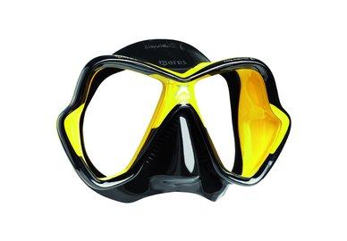 Maska MARES X-Vision LiquidSkin černo-žlutá