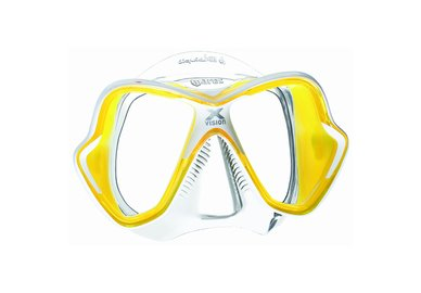 Maska MARES X-Vision LiquidSkin transparentní / žlutá