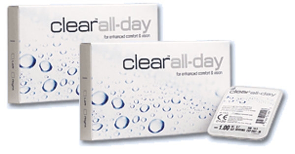 Clear all Day (6 čoček) - výprodej