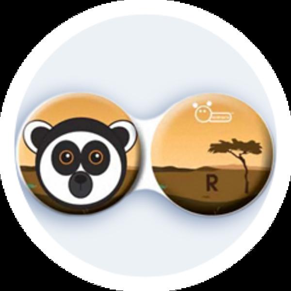Anti-bakteriální pouzdro klasické - Afrika - Lemur