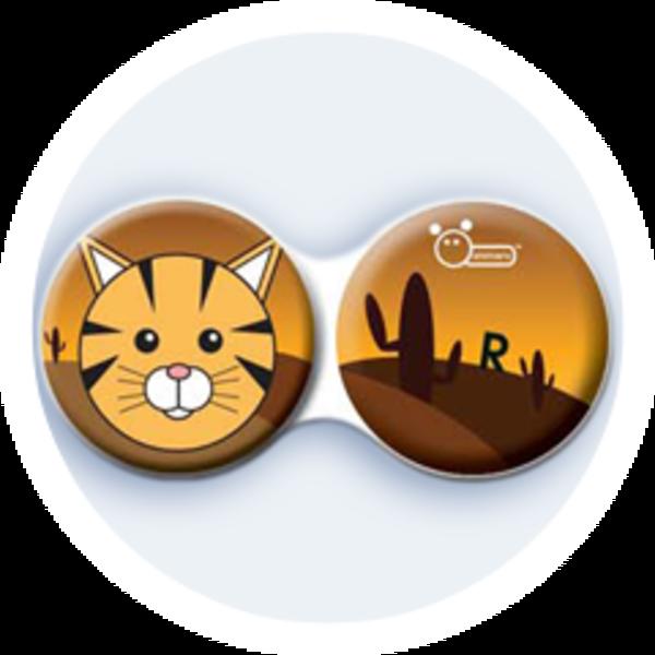 Anti-bakteriální pouzdro klasické - Divočina - Kočka