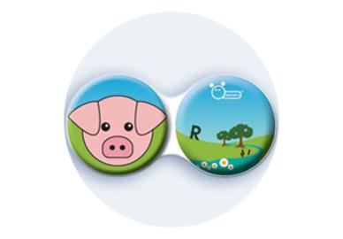 Anti-bakteriální pouzdro klasické - Farma - Prase