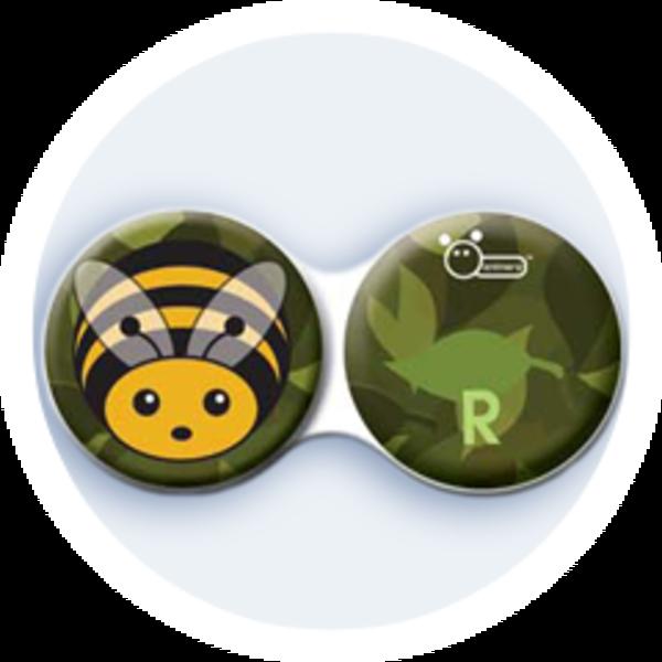 Anti-bakteriální pouzdro klasické - Hmyz - Včela