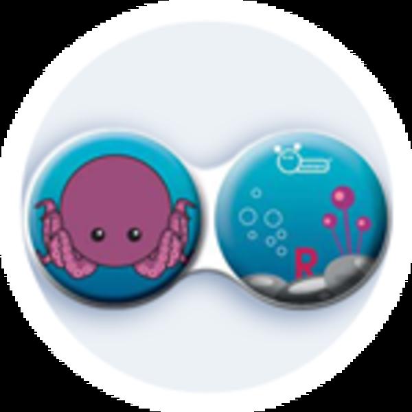 Anti-bakteriální pouzdro klasické - Moře - Chobotnice