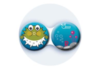 Anti-bakteriální pouzdro klasické - Moře - Ježík