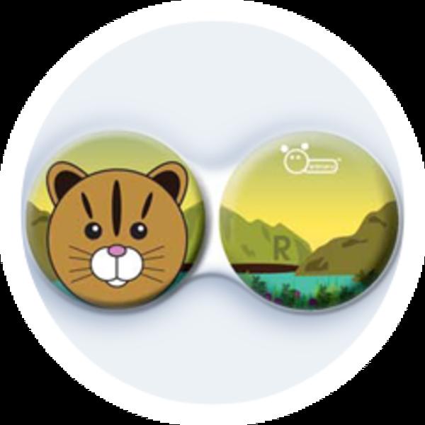 Anti-bakteriální pouzdro klasické - ZOO - Kočka divoká