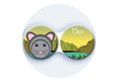 Anti-bakteriální pouzdro klasické - ZOO - Myš