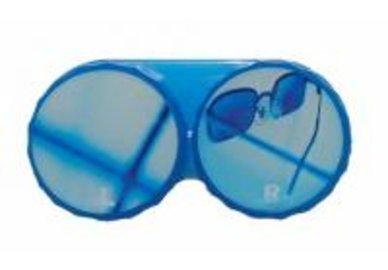 Klasické pouzdro motiv léto - Modré brýle