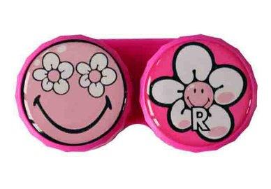 Klasické pouzdro motiv Smiley - Květ