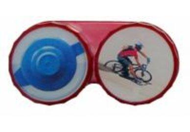 Ozdobné pouzdro - Cyklista