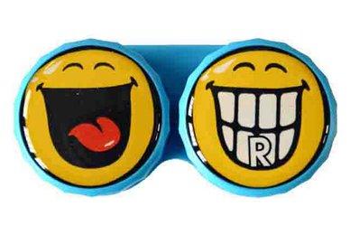 Klasické pouzdro motiv Smiley - Zuby
