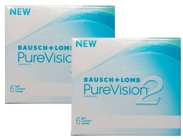 PureVision 2HD (6 čoček) Výprodej