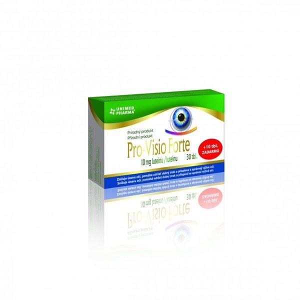Vitamínové tablety Pro-Visio-Forte 30+10 tbl zdarma - poškozený obal
