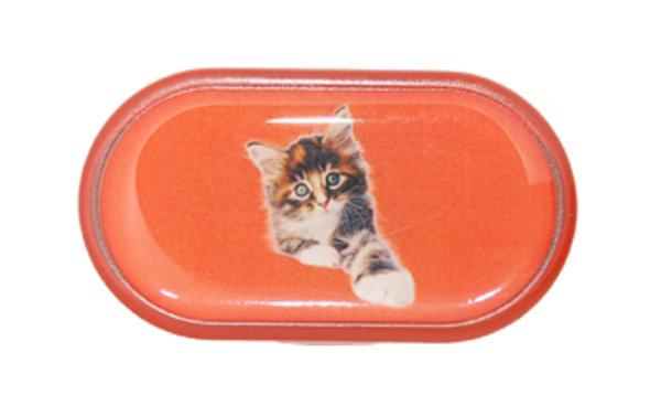 Pouzdro se zrcátkem Jednoobrázkové - Kotě
