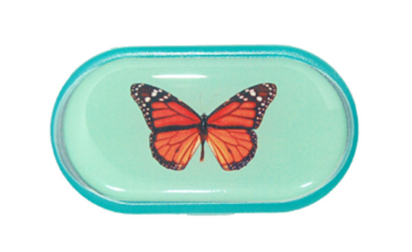 Pouzdro se zrcátkem Jednoobrázkové - Motýl