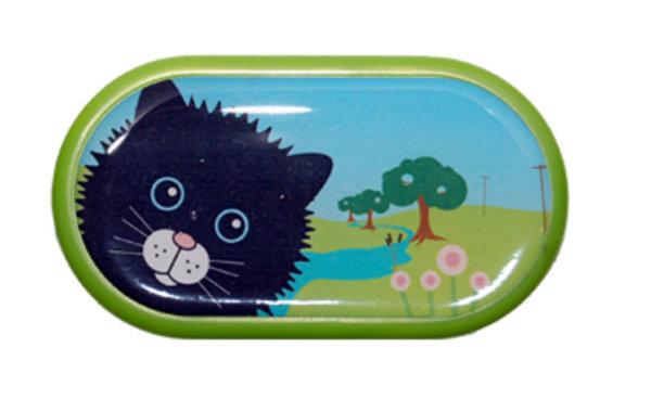 Ozdobné pouzdro se zrcátkem Farma - Kočka