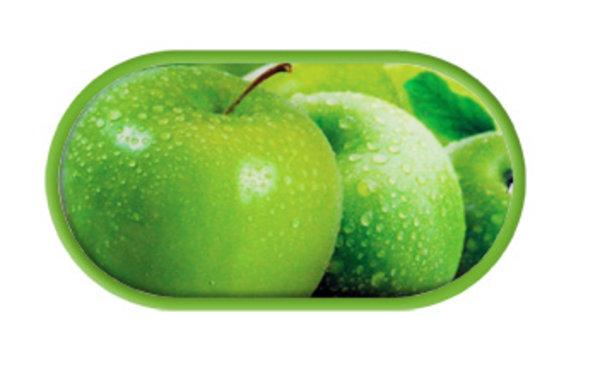 Pouzdro se zrcátkem motiv Ovoce - Jablko