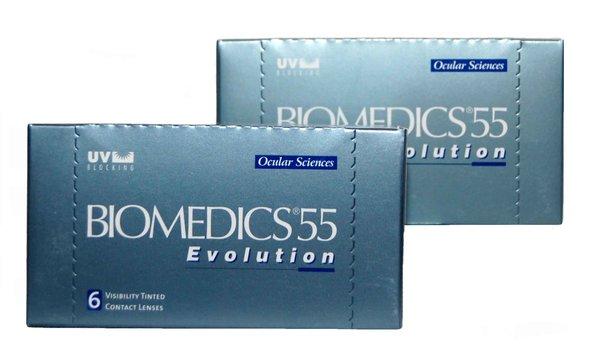 Biomedics 55 Evolution (6 čoček) - Doprodej skladu!