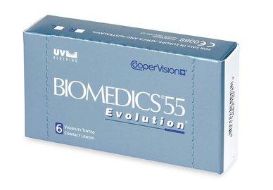 Biomedics 55 Evolution (6 čoček) - výprodej skladu
