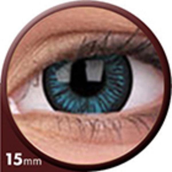 Phantasee Big Eyes - Beautiful Blue (2 čočky tříměsíční) - nedioptrické