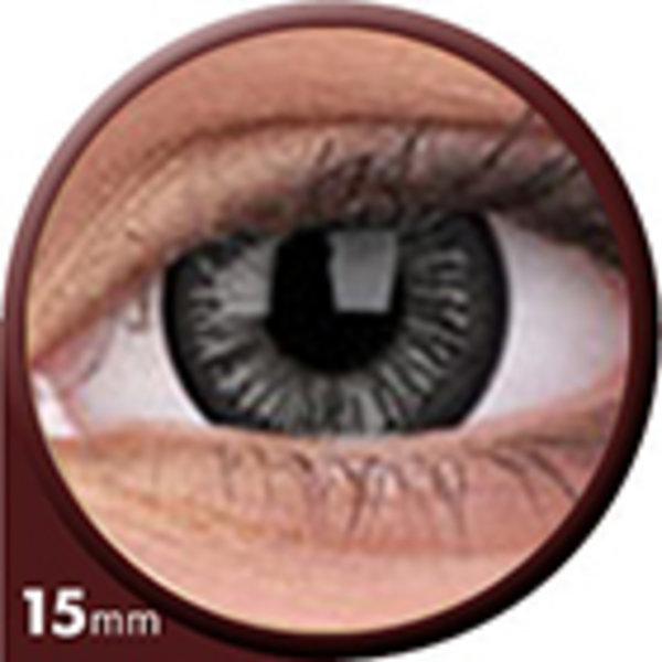 Phantasee Big Eyes - Lovely Grey (2 čočky tříměsíční) - nedioptrické