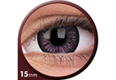 Phantasee Big Eyes - Passionate Purple (2 čočky tříměsíční) - dioptrické