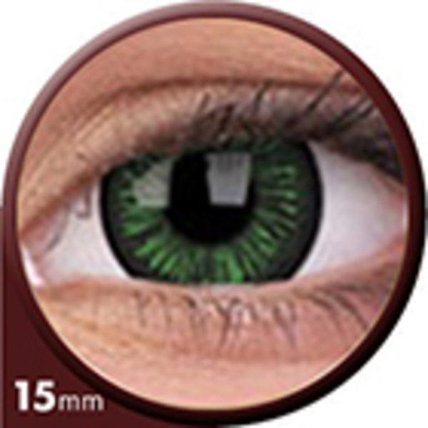 Phantasee Big Eyes - Lustrous Green (2 čočky tříměsíční) - nedioptrické - doprodej