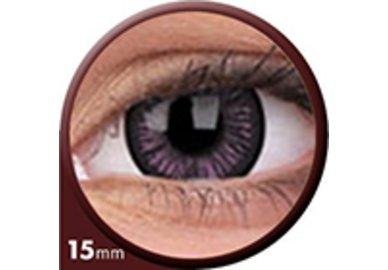 Phantasee Big Eyes - Passionate Purple (2 čočky tříměsíční) - nedioptrické