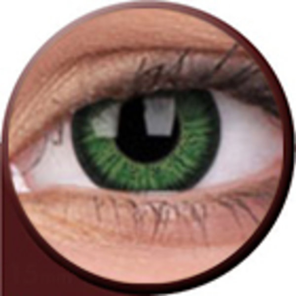 Phantasee Vivid - Green (2 čočky tříměsíční) - nedioptrické
