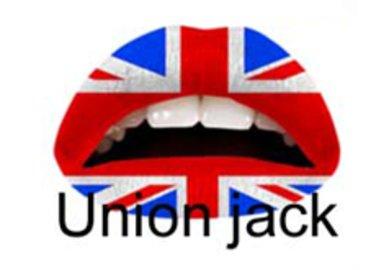 Samolepka na rty - Union Jack