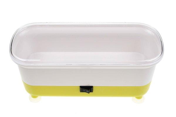 Automatická čistička brýlí - žlutá